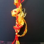 Weaving fire element prototype 2 for Telesa Art Competition