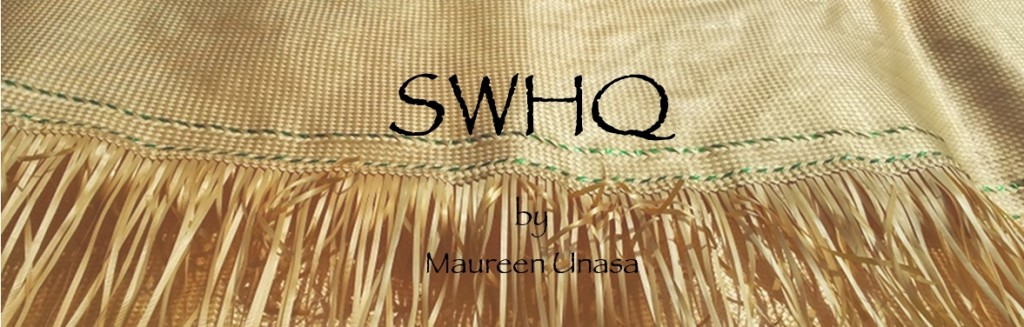 Samoan Weaving HQ by Maureen Unasa