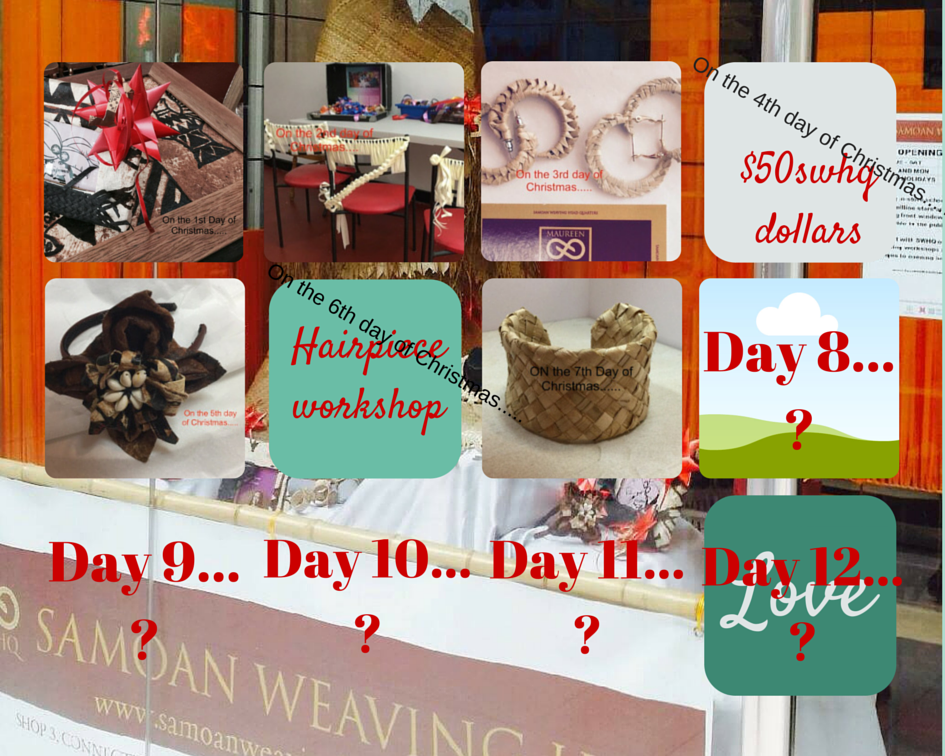 #swhqchristmascountdown  12 days of SWHQ christmas